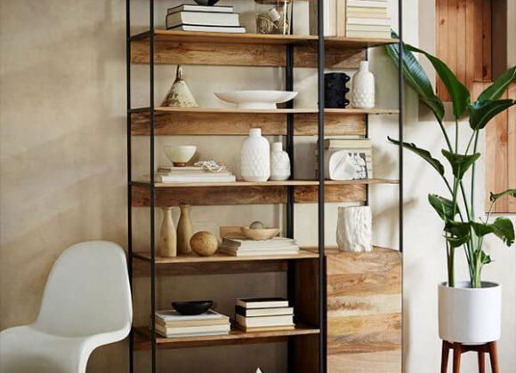 Industrial Modular Bookshelf