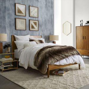 Mid-Century Bed-Acorn