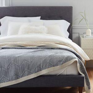 Double Cloth Arrow Blanket